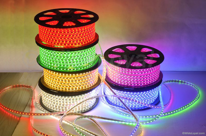 120v led strip led 120volt strip light multi color aloadofball Gallery