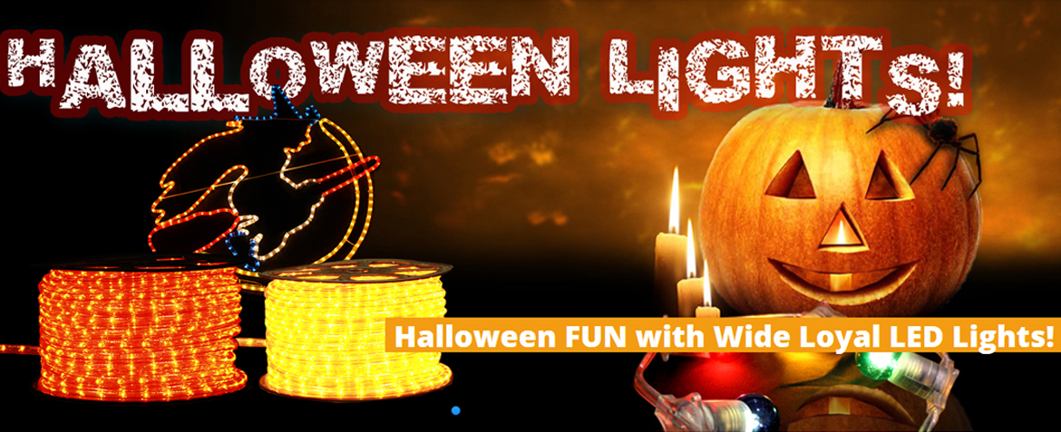 Inspiration halloween fun with wide loyal led lights aloadofball Images